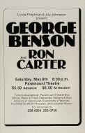 George Benson Poster