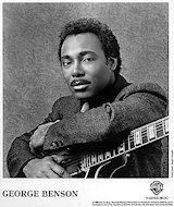 George Benson Promo Print