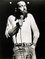 George Carlin Premium Vintage Print
