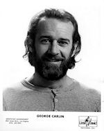 George Carlin Promo Print