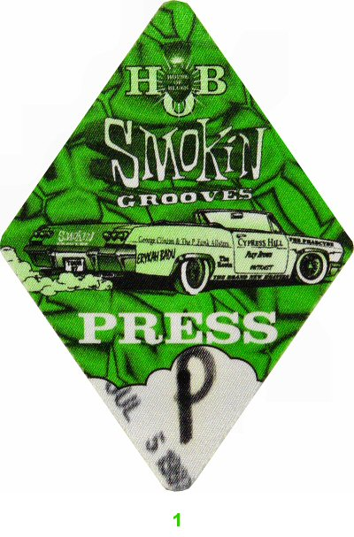 George Clinton & the P-Funk All-Stars Backstage Pass
