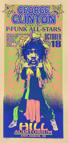 George Clinton & the P-Funk All-Stars Handbill