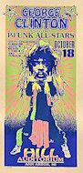 George Clinton &amp; the P-Funk All-Stars Handbill
