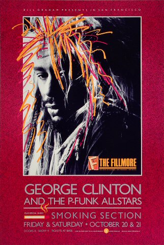 George Clinton & the P-Funk All-Stars Poster