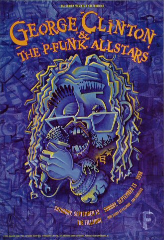 George Clinton &amp; the P-Funk All-StarsPoster