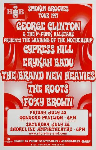 George Clinton &amp; the P-Funk All-Stars Poster