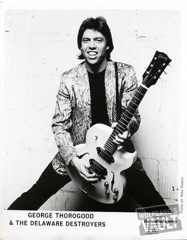 George Thorogood & The Delaware Destroyers Promo Print