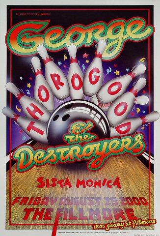George Thorogood & The Destroyers Poster