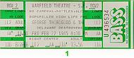 George Thorogood 1980s Ticket