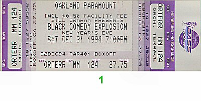 George Wallace 1990s Ticket
