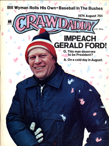 Gerald Ford Crawdaddy Magazine
