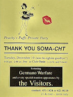 Germano Warfare Handbill