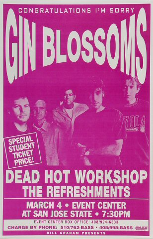 Gin BlossomsPoster