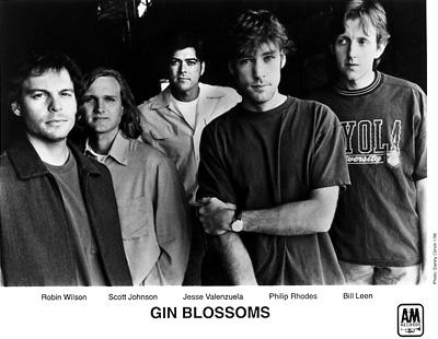 Gin Blossoms Promo Print
