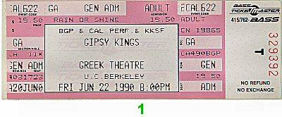Gipsy Kings1990s Ticket