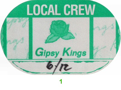 Gipsy Kings Backstage Pass