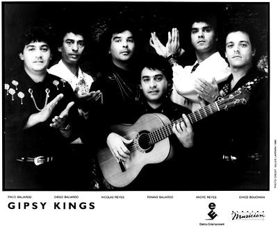 Gipsy KingsPromo Print