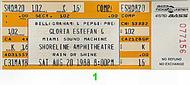 Gloria Estefan & Miami Sound Machine 1980s Ticket