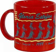 Gloria Estefan &amp; Miami Sound Machine Vintage Mug