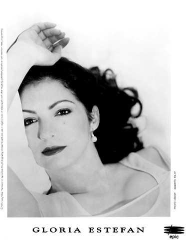 Gloria Estefan Promo Print