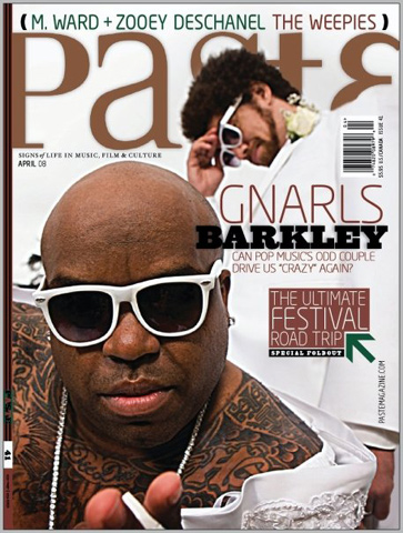 Gnarls Barkley Paste Magazine