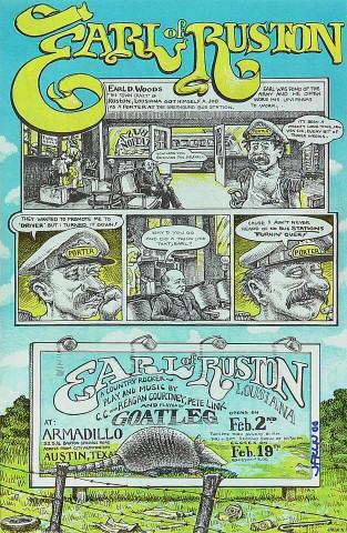 Goatleg Handbill