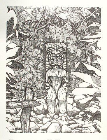 God Of War: Kukailimoku Poster