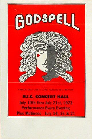 Godspell Handbill
