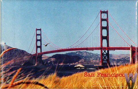 Golden Gate BridgeMagnet