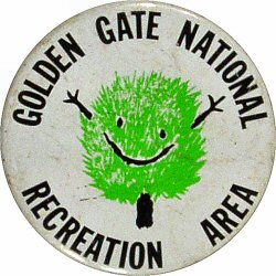 Golden Gate National Recreation Area Vintage Pin
