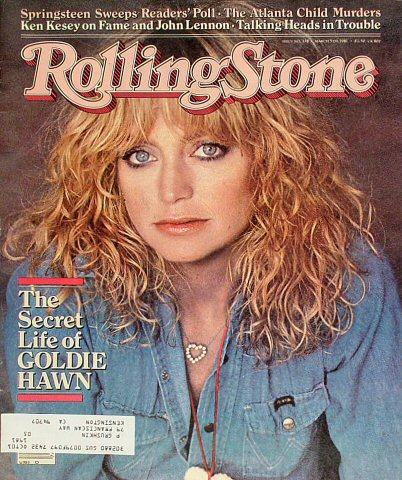 Goldie HawnRolling Stone Magazine