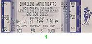 Goo Goo Dolls 1990s Ticket