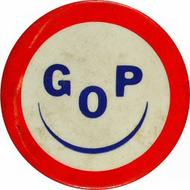 GOP Vintage Pin