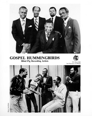 Gospel Hummingbirds Promo Print