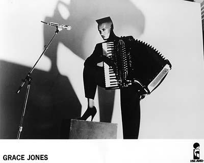 Grace Jones Promo Print