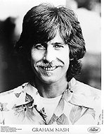 Graham Nash Promo Print
