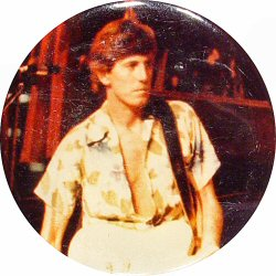 Graham Nash Vintage Pin
