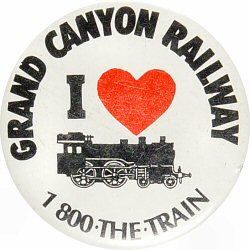 Grand Canyon Railway Vintage Pin