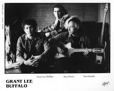 Grant Lee Buffalo Promo Print