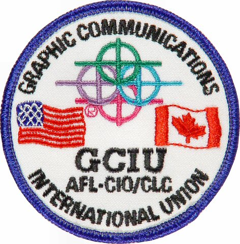Graphic Comnunications International Union Patch