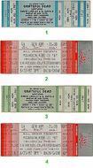 Santana 1980s Ticket