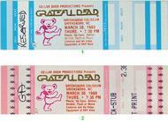 Grateful Dead 1980s Ticket