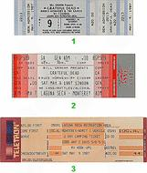 Bruce Hornsby and the Range 1980s Ticket