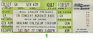 Tower of Power 1980s Ticket