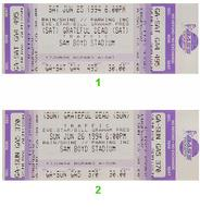 Traffic 1990s Ticket