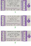 Dave Matthews Band 1990s Ticket