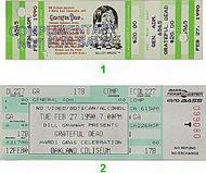 Grateful Dead 1990s Ticket