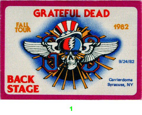 Grateful DeadBackstage Pass