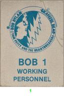 Bob Dylan Backstage Pass