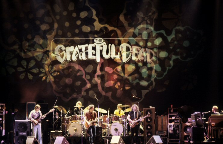 Grateful DeadBG Archives Print